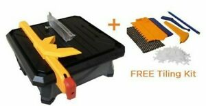 Plasplugs Pro Tiler XL 550W 180mm Electric Tile Cutter DWW550 + FREE Tiling Kit