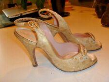 Vintage Delman Dress Ladies Pumps Shoes size 4 Jenny Shoe Cincinnati