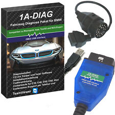 OBD2 Diagnose Set für BMW komp. zu INPA NCSEXPERT Rheingold + Software
