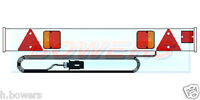 """4FT 6"""" FOOT CAR TRAILER/BIKE/CYCLE/RACK/CARRIER LIGHT LIGHTING BOARD 6M CABLE"""