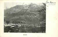 Cartolina di Breno, panorama - Brescia