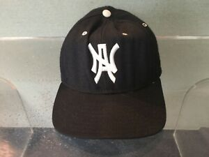 Vintage 1990's North Adams State College (MCLA) baseball cap hat MOHAWKS  Mascot