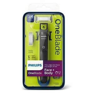 Philips OneBlade Face & Body Hybrid Trimmer and Shaver QP2620/25 NEW