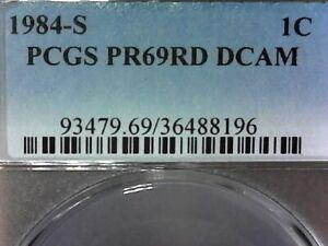 UNITED STATES--1984 S PCGS PR69RD DCAM'S MEMORIAL CENT