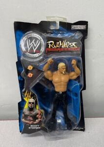 (BOT) Scott Steiner Ruthless Aggression Action Figure - Series 3