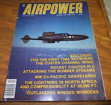 May 1977 Issue AIR POWER MAGAZINE/SkyBolt P-38/Messerschmitt Me-163/Weird Planes