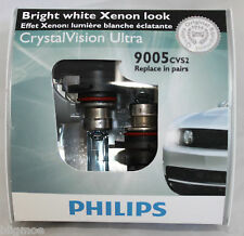NEW Philips 9005  HB3 65w CVS2 Crystal Vision Ultra 1 Pair Dual HID Xenon Look