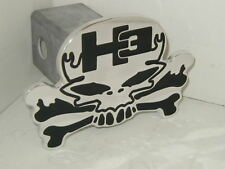 hitch cover,SKULL H3,sut, hummer,h2