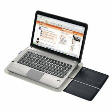 LOGITECH Lapdesk Cuscino riposo N600 WIRELESS WIFI USB Trackpad Mouse LAPTOP DESK