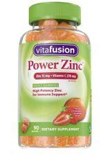 Vitafusion Power Zinc Dietary Supplements - 90ct
