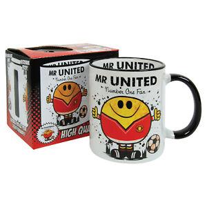 MAN UNITED APRON MUG BAG LIGHTER T-SHIRT-great gift for fan him her present idea