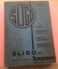 RA340 Vintage Hardcover Book Sligo Catalog No. 88 Steel And Industrial Supplies