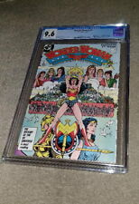 Wonder Woman (1987) #1 CGC 9.6  New Origin & 1st modern appearance Ares +++