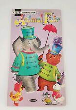 Vintage BONUS Coloring Book Animal Fair UNUSED Whitman 1966 Activities  Rare