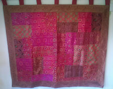 Recycled Sari Wall Hanging 42ins high x 48ins wide