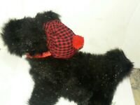 1999 Enesco Mary Engelbreit Cuties HENRY THE SCOTTIE DOG Stuffed Plush Black