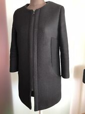 Edel kurz Mantel mit Reißverschluss Von Rich&Royal Gr 36 38 S Schwarz