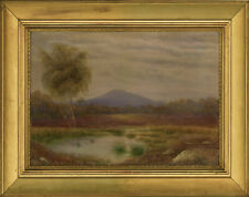E.O. Scott - Signed and Framed Early 20th Century Watercolour, Marsh Landscape