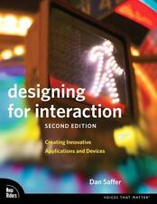 DAN SAFFER - Designing for Interaction: Creating ** Very Good Condition **