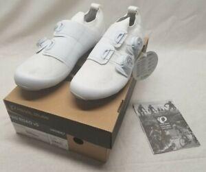 PEARL iZUMi Unisex Bicycle Cycle Bike PRO Road V5 Shoes White / White Size: US 9
