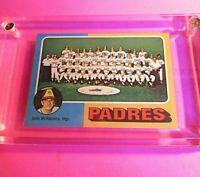 1975 Topps #146 San Diego Padres Team CL/ John McNamara Mgr NmMt High Grade