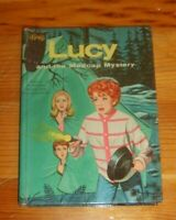 Vintage book Lucille Ball Lucy tv Whitman Madcap Mystery children actress