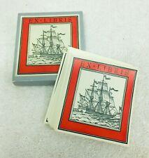50  Ex Libris Large Sail Ship Square Rigger In Original Box Great Shape