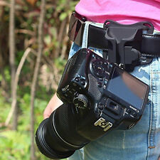 Mount Clip Loading Fast Holster Hanger Waist Belt Buckle Holder for Camera DSLR