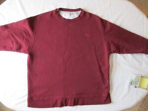 VTG Champion Eco Authentic 90s Sweatshirt Mens Size XL Embroidered logo Burgundy