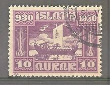 Iceland Sc# 155 Used Cat Val $25 gtc20