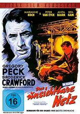 Das unsichtbare Netz * DVD spannender Agentenfilm mit Gregory Peck Pidax