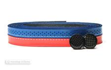 NOS Stella Azzurra ELEGANZA Handlebar Bartape Bar Grip Tape : BLUE/RED
