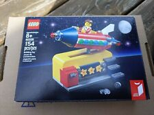Nib Lego 40335 Ideas Space Rocket Ride Coins + Figure
