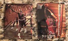 LOT OF 2: 1997-98 Topps Finest Michael Jordan Card #39 #271 W/Peel FREE SHIPPING
