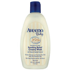 Aveeno Baby Soothing Relief Wash 236ml -  Tear-free Wash