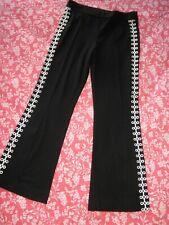 Ladies Black Matador Pants w/ stretch, Magaschoni, 12