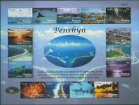 Cook Islands Penrhyn 2011 SG588 Tourism Island Views MS MNH