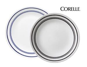"""1 Corelle CLASSIC CAFE BLUE Bands 6 3/4"""" BREAD & BUTTER PLATE Triple Bands *New"""