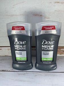 Dove Men + Care Deodorant Stick Extra Fresh 3 oz (Pack of 2)