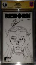 "Reborn 2 Sketch Cover ""The Collection of Capullo"" CGC SS 9.8 sig Capullo NETFLIX"