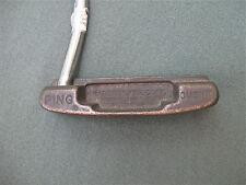 RARE VINTAGE PING CUSHIN PUTTER  85029 zipcode 1960'S RICH BRONZE PATINA