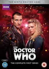 Doctor Who - Series 1 - Ninth Doctor (DVD 2005) season one first 1st - 5 discs