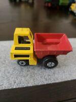 Vintage MATCHBOX Super fast Site Dumper Semi Dump Truck Construction Cement