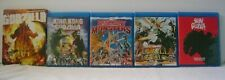 Godzilla Blu Ray lot rare Criterion, Kong, Destroy all Monsters, Megalon, Shin
