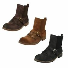 Ankle Boots Pull On Solid Shoes for Women