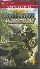 SOCOM: U.S. Navy SEALs Fireteam Bravo - PSP VIDEO GAME