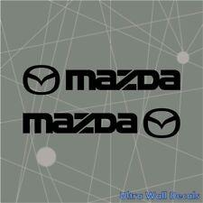 2 x MAZDA MX CX 3 5 6 Serie Aufkleber Sticker für Alle MAZDA