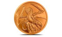 World of Dragons 1oz .999 Pure Copper Bullion