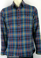 Levi's Skateboarding Collection Shirt Plaid 100% Cotton Levis