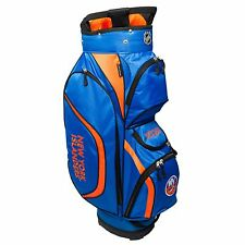 BRAND NEW Team Golf New York Islanders Clubhouse Cart Bag Blue/Orange 14762